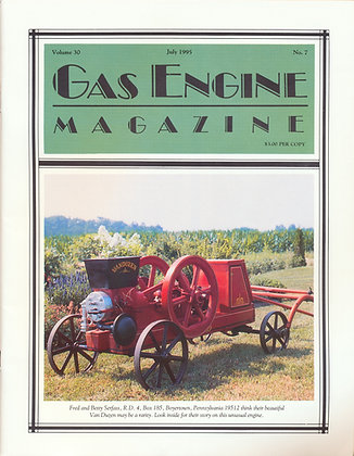 Gas Engine Mag.  July 1995