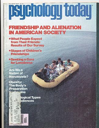 Psychology Today October 1979