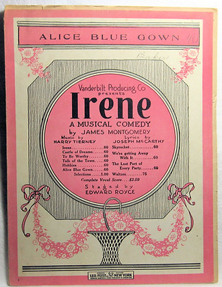 ALICE BLUE GOWN 1919