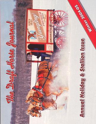 Draft Horse Journal Winter 2004-05