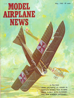 "Model Airplane News (May 1965) ""Lloyd C.II"""
