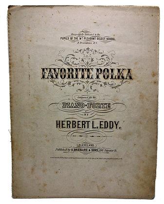 Favorite Polka Mt. Pleasant School 1869