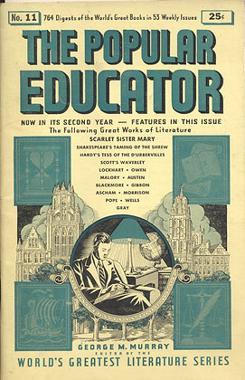 POPULAR EDUCATOR (#11, Second Year, 1939) SCARLET SISTER MARY