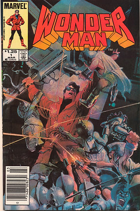 Wonder Man, #1 - 1986