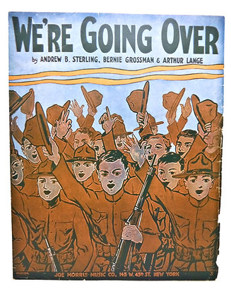 We're Going Over (WW1) 1917