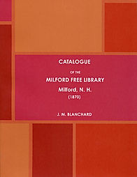 CATALOGUE OF THE MILFORD FREE LIBRARY.jp