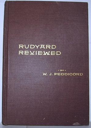 Rudyard Kipling Reviewed by W. J. Peddicord 1900
