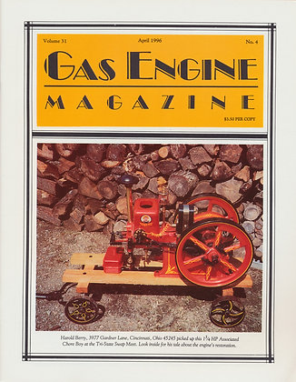 Gas Engine Mag.  April 1996