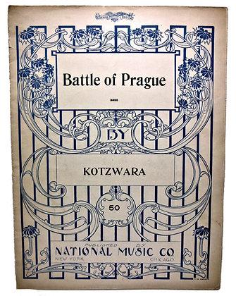 Battle of Prague by Kotzwara (ca. 1890)