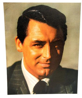 CARY GRANT: 8 x 10 color (ca. 1940)