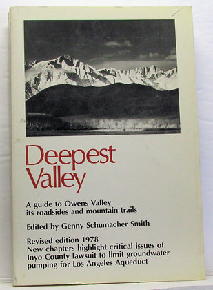 DEEPEST VALLEY by Paul Bateman 1978 (California)