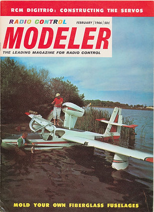 R/C Modeler (Feb. 1966) Vol. 3, No. 2