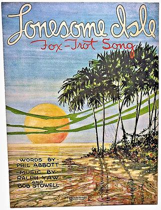 Lonesome Isle (Fox-Trot Song) 1921