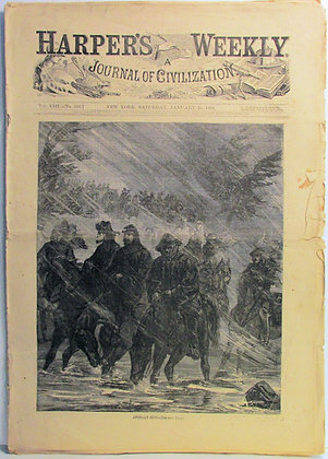 Harper's Weekly, A Journal of Civilization (January 16, 1864)