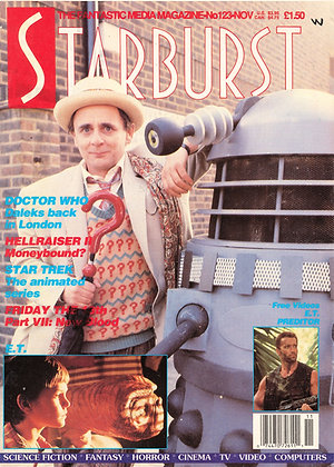 Doctor Who Starburst November 1988