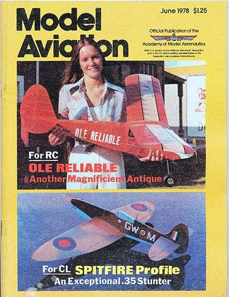 Model Aviation (June 1978) Vol. 4, No. 6