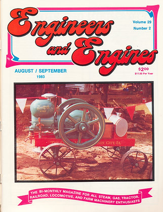 Engineers & Engines, Aug.-Sept. 1983