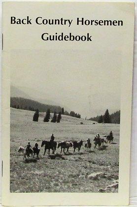 Back Country Horsemen Guidebook (USDA Forest Service) 1989