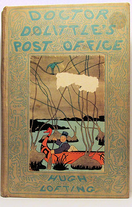 DOCTOR DOLITTLE'S POST OFFICE by HUGH LOFTING (1st Ed. 2nd printing) 1923