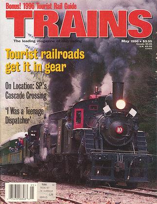 TRAINS, May 1996