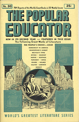 POPULAR EDUCATOR (#30, Second Year, 1940) THE PEOPLE'S CHOICE