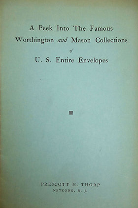 Famous Worthington & Mason Collections Stamps