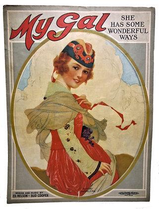 My Gal Wonderful Ways 1909