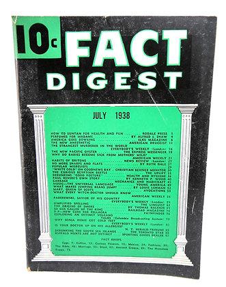 Rodale Fact Digest July 1938