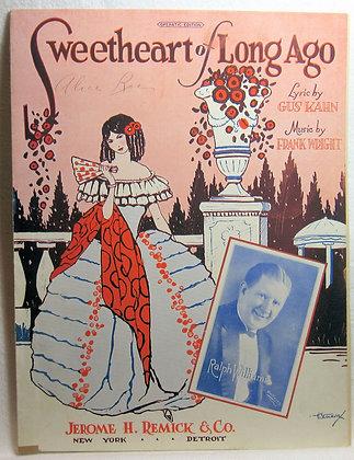 Sweetheart of Long Ago 1926