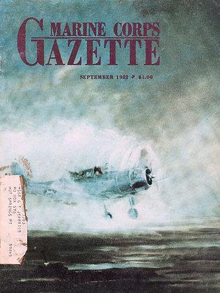 Marine Corps Gazette (September 1982)