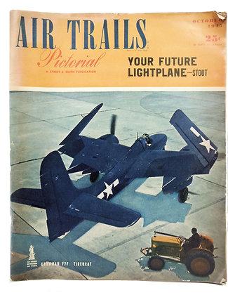 Air Trails (October 1945) Vol. 25, No. 1
