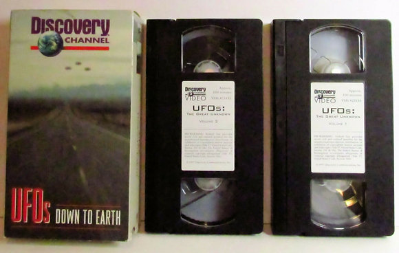 Discovery ChannelUFOs DOWN TO EARTH(2 VHS Set)