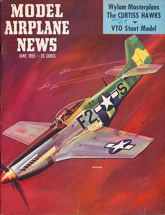 Model Airplane News (June 1955)