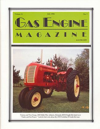 Gas Engine Mag.  July 1996