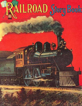Railroad Story Book Reproduction