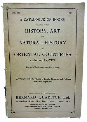 No. 533 Oriental Countries 1937