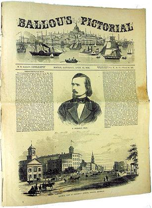 Ballou's Pictorial Boston (April 12, 1856)