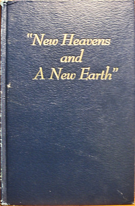 """""""New Heavens and A New Earth"""" 1953 Watchtower"""
