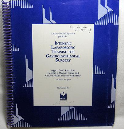 INTENSIVE LAPAROSCOPIC Legacy 1994