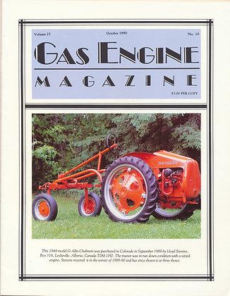 Gas Engine Mag.  October 1990