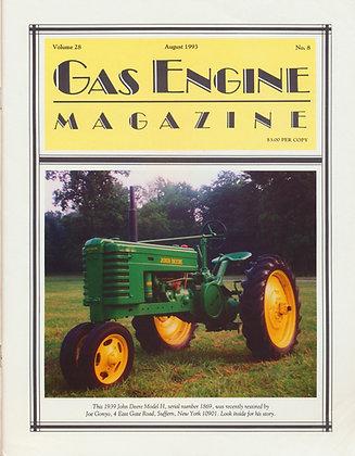 Gas Engine Mag.  August 1993