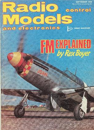 Radio Control Models September 1978