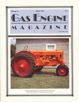 Gas Engine Mag.  August 1990