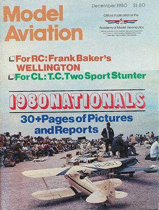 Model Aviation (Dec. 1980) Vol. 6, No. 12