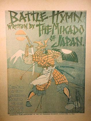 Battle Hymn Mikado of Japan 1904
