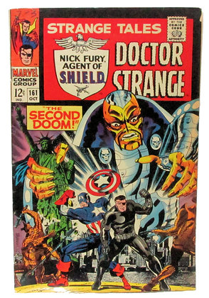 STRANGE TALES, #161 OCT, MARVEL COMICS GROUP, 1967
