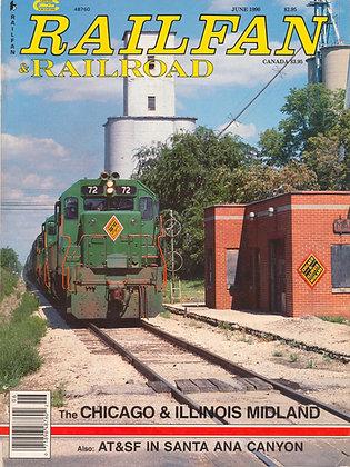 RAILFAN & RAILROAD JUNE 1990