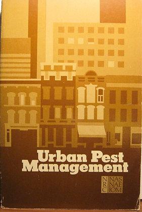 Urban Pest Management: A Report 1980