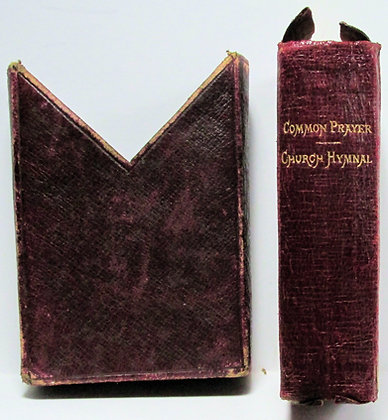 BOOK OF COMMON PRAYER with slipcase (IRELAND) Church Hymnal 1897