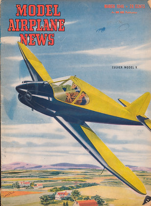 Model Airplane News (March 1946)